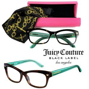 Juicy Couture Black Label Eyeglasses Frames w/Case